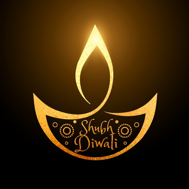 smooth-background-with-bright-decorative-diwali-candle